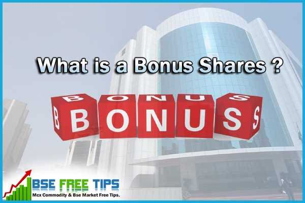 What is a Bonus Shares in Indian Stock Market ?
